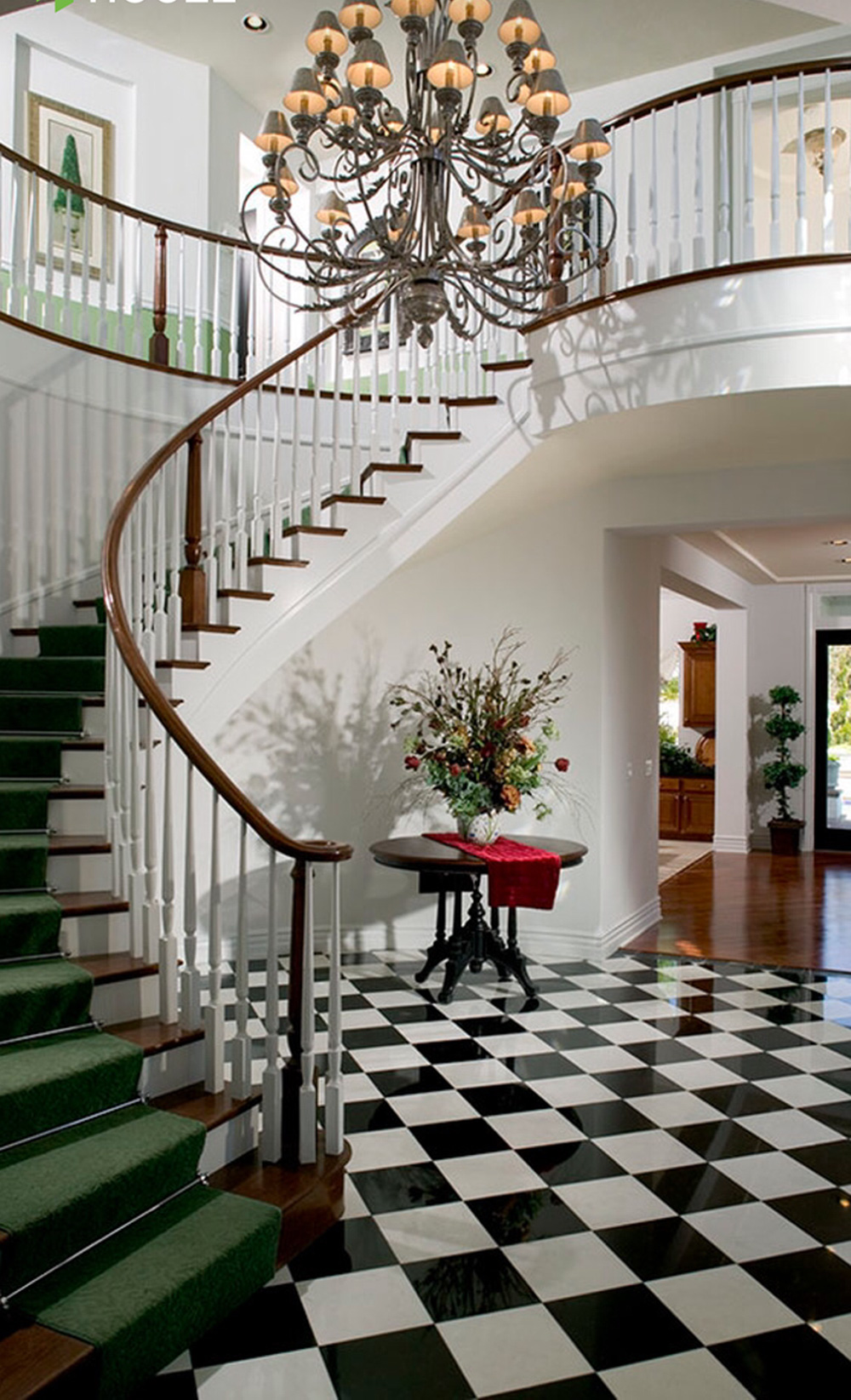Traditional Circular Staircase